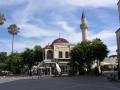Das Minaret steht nach dem Erdbeben 2017 nicht mehr
