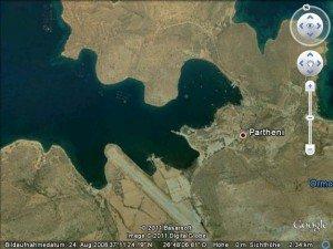 Bucht von Partheni by Google