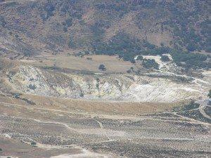 Der Krater oder der Schnellkochtopf des Dodekanes. Für mehr Infos. klick ins Bild.